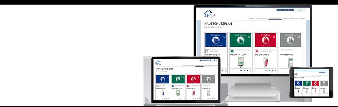 Hautschutzplan Konfigurator | Hautschutzpläne online erstellen